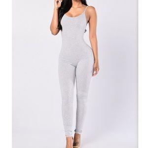 Light Grey Jumpsuit
